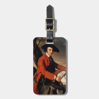 Joseph Wright- Portrait of Fleetwood Hesketh Travel Bag Tag