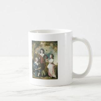 Joseph Wright-The Children of Hugh and Sarah Wood Classic White Coffee Mug