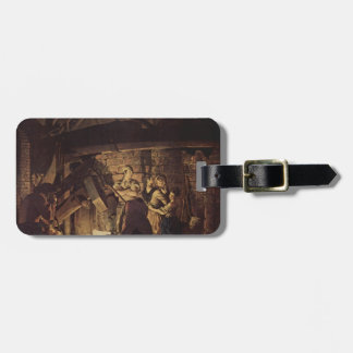 Joseph Wright- The Iron Forge Tags For Bags