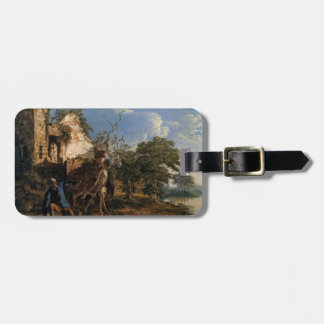Joseph Wright- The Old Man and Death Luggage Tag