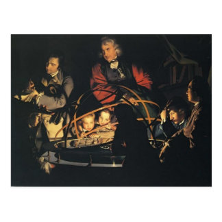 Joseph Wright- The Orrery Postcard