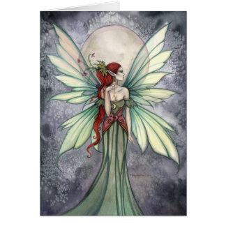 Josephina Fantasy Fairy Art Card by Molly Harrison