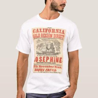"""Josephine"" al anuncio de California (1280A) Playera"