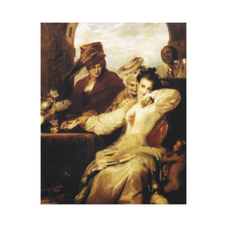 'Josephine and Fortune-Teller' Gallery Wrap Canvas