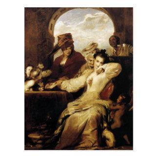 'Josephine and Fortune-Teller' Postcard