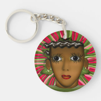 Josephine Baker in the 21st Century (Personalized) Keychain