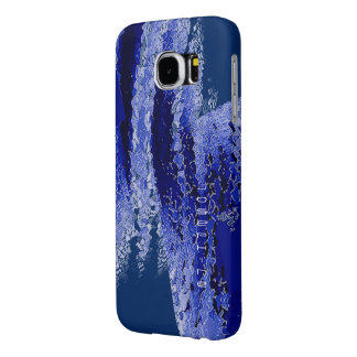 Josephine Bluish Galaxy cover Samsung Galaxy S6 Cases
