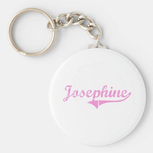 Josephine Classic Style Name Key Chain