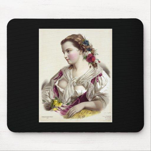 Joséphine Ducollet Fleur des champs Mousepad