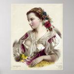 Joséphine Ducollet Fleur des champs Poster