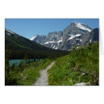 Josephine Lake Trail with Mount Guild at Glacier Card