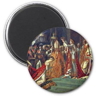 Joséphine se arrodilla antes de Napoleon durante Imán Redondo 5 Cm