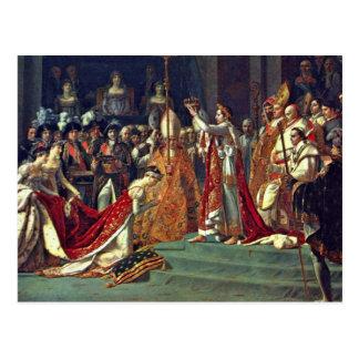 Joséphine se arrodilla antes de Napoleon durante Postales