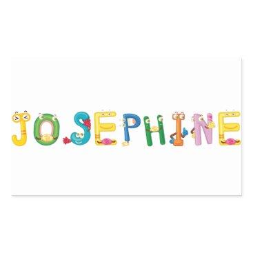 Beach Themed Josephine Sticker