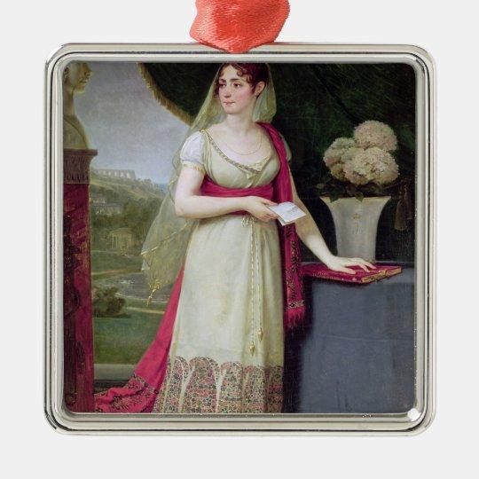 Josephine Tasher de la Pagerie  Empress Metal Ornament