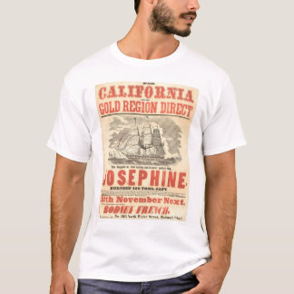 """Josephine"" to California Advertisement (1280A) T-Shirt"