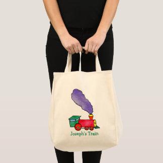 Joseph's Choo Choo Train Tote Bag
