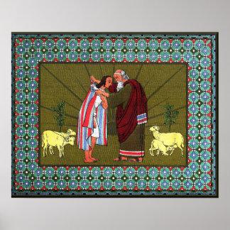 Joseph's Coat of Many Colors Poster
