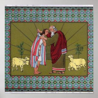 Joseph's Coat  of Many Colors...Print Poster