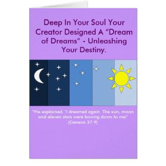 Joseph's Dream Card