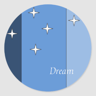 Joseph's Dream Classic Round Sticker