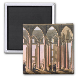 Joseph's Hall in the Castle of Cairo, plate 31 fro 2 Inch Square Magnet