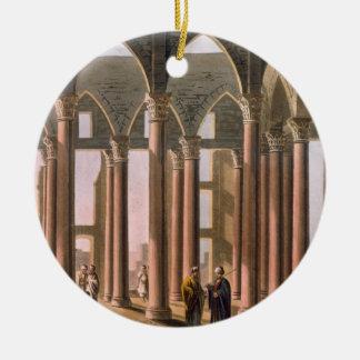 Joseph's Hall in the Castle of Cairo, plate 31 fro Ceramic Ornament