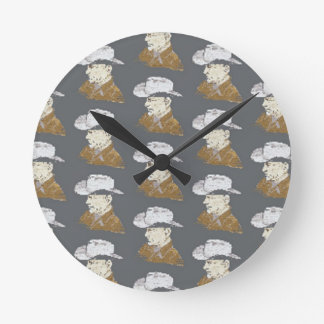Joseph's Hat Shop Round Clock