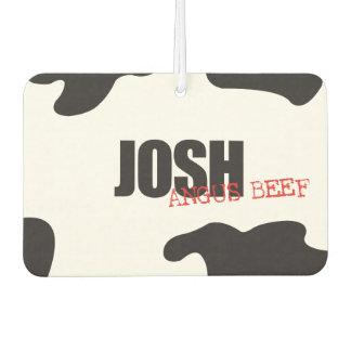 """Josh """"Angus Beef"""" Trendy Air Freshener"""