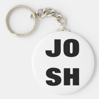 """JOSH"" Double Line Key Chain"