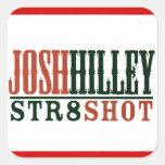 Josh Hilley Pegatina Cuadrada