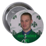 Josh Prather - botón del jugador Pin