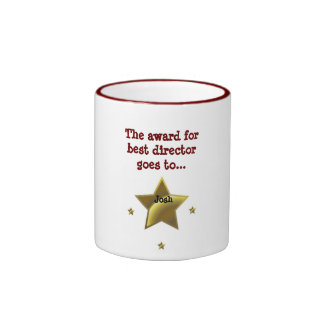JOSH: The Award For Best Director Ringer Coffee Mug