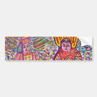 JOSHANI n NOVINO Featherless Angels Bumper Stickers