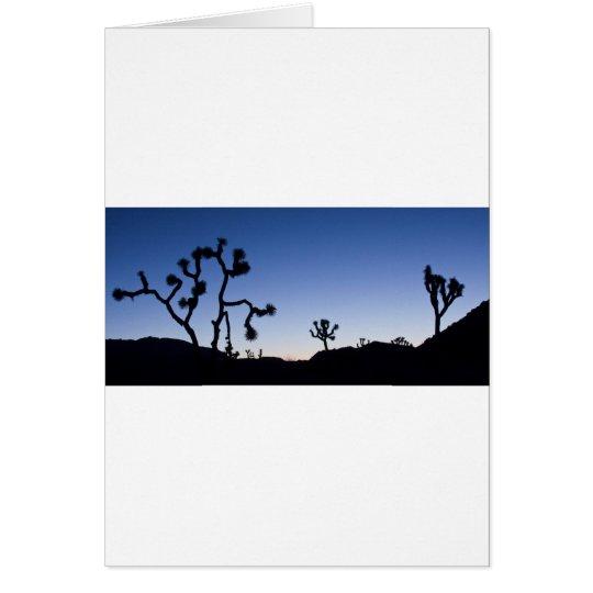 Joshau Tree Twlight Card