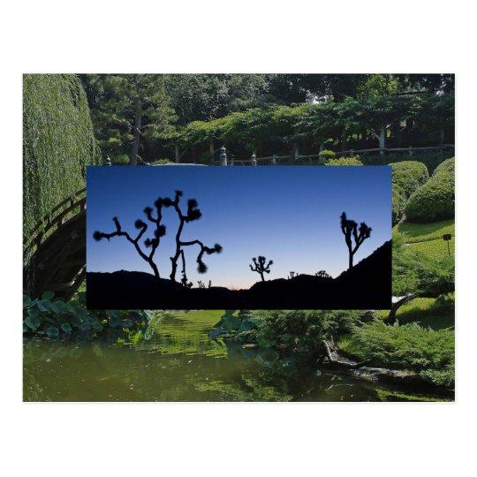 Joshau Tree Twlight Postcard