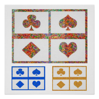 JOSHINO Poker Fans Collections Posters