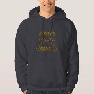 Josh's Logging Company Hooded Sweatshirt