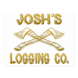 Josh's Logging Company Postcard