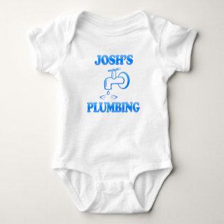 Josh's Plumbing Baby Bodysuit