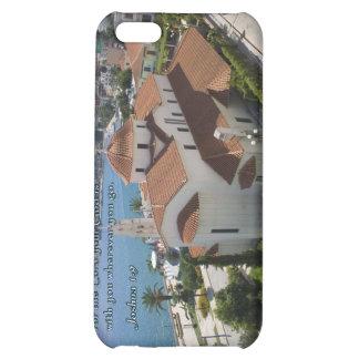 Joshua 1:9 Albanian Church Cover For iPhone 5C