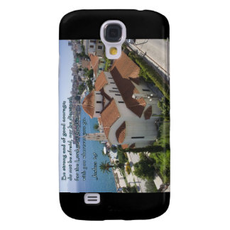 Joshua 1:9 Albanian Church Galaxy S4 Covers