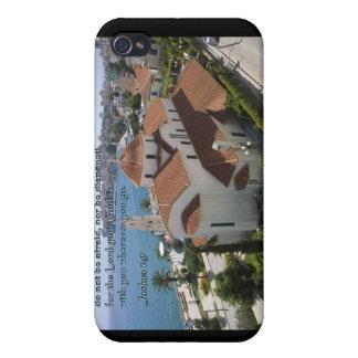 Joshua 1:9 Albanian Church iPhone 4/4S Cases