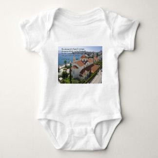 Joshua 1:9 Albanian Church Tee Shirt