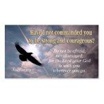 Joshua 1:9 - INSPIRATIONAL Profile CARDS
