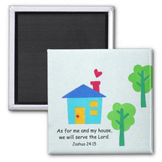 Joshua 24:15 fridge magnet