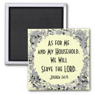 Joshua 24:15 fridge magnets