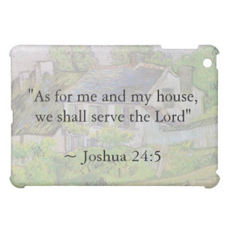 Joshua 24:15 Van Gogh House iPad Mini Covers