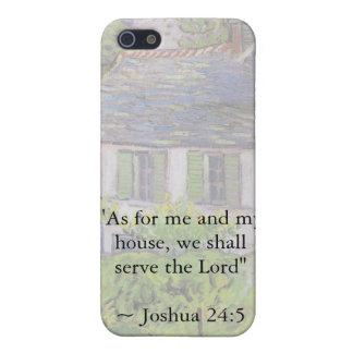 Joshua 24:15 Van Gogh House iPhone SE/5/5s Case