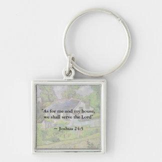 Joshua 24 15 Van Gogh House Key Chains